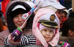 Коркинцы участвовали в мероприятиях в годовщину присоединения Крыма
