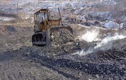 Угольщики тушат пожары и выполняют план добычи
