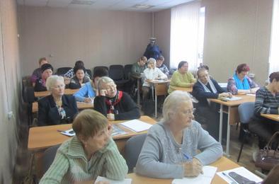 В Народном университете встреча с руководителем ЦГБ Коркино