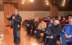 Ветераны Коркино задали вопросы главе поселения