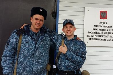 Полицейские Коркино выполнили служебные задачи