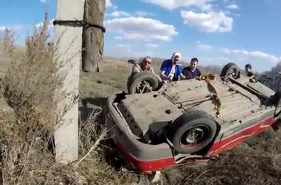 На автодороге Коркино-Первомайский произошло ДТП