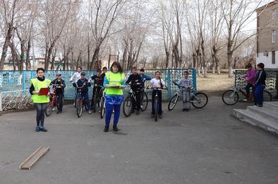 В Коркино воспитывают культурных велосипедистов