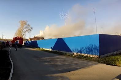 И опять в Коркино горят дома, бани и сухая трава