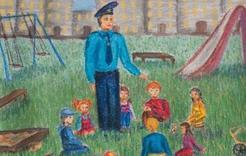 Ребят Коркино приглашают участвовать в «полицейском» конкурсе