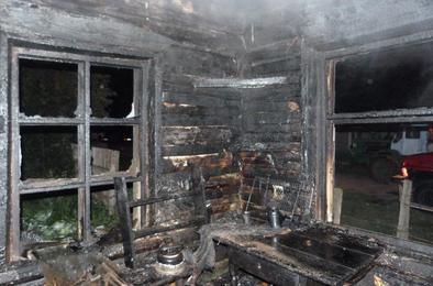 В Коркино праздники омрачила гибель на пожаре
