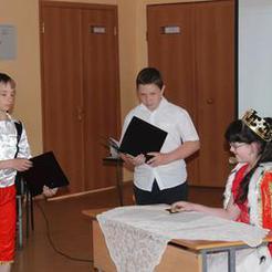 Школьники Коркино инсценировали классику