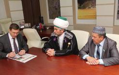 В Коркинском районе побывали лидеры мусульман региона