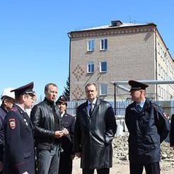 В Коркино побывал главный полицейский области