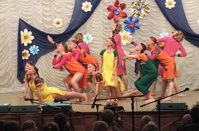 Юные хореографы Коркино показали всё, чему научились