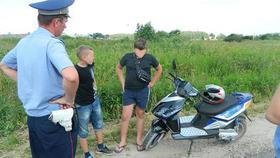 Коркинские мотоциклисты нарушают правила