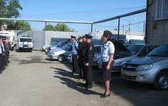 В полиции Коркино проверили готовность транспорта