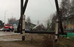 В Коркинском районе два дня устраняли последствия непогоды
