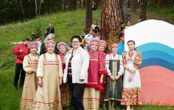Коркинцы в День России встали  в «Русский хоровод»