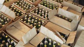 Полицейские Коркино изъяли алкоголь с поддельными акцизными марками