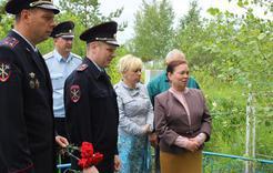 Коркинские полицейские чтят память погибших сотрудников