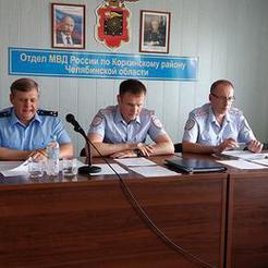 Полиция Коркино подвела итоги работы за полгода