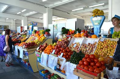 На Коркинском городском рынке гарантируют качество продукции