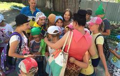В школьном лагере было весело и увлекательно