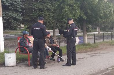 Коркинские полицейские провели мероприятие «Район»