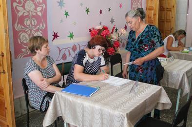 В Первомайском состоялся информационный день соцзащиты