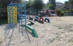 Коркинские детсады получили спортивные площадки