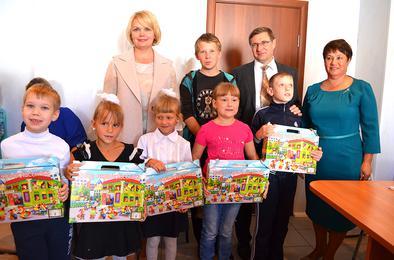 В Коркино побывала с визитом министр соцотношений