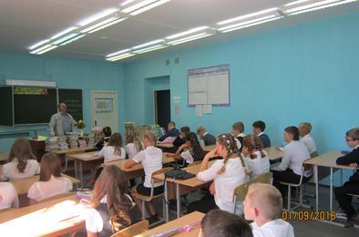 Школьникам Коркино рассказали о профессиях