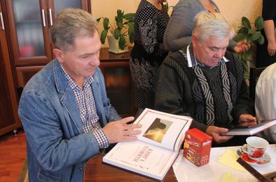 Коркинцам-чернобыльцам вручили памятную книгу