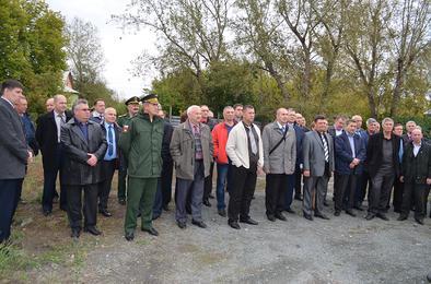 В Коркино побывали сотрудники военкоматов Центрального военного округа