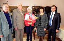 Почётная награда вручена жительнице Коркино