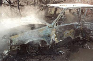 За выходные в Коркино сгорели две машины
