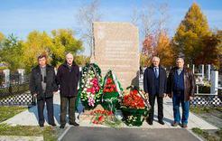Горняки Коркино почтили память погибших шахтёров и горноспасателей