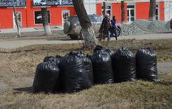 Коркинцы очистили от мусора почти 90 гектаров территории
