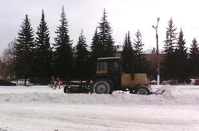 Коммунальщики Коркино направили все силы на очистку от снега