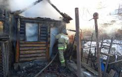 В Коркино при пожаре погибла пожилая женщина