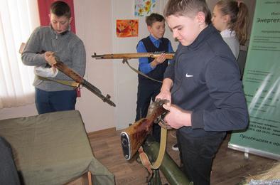 В Коркино побывал мобильный музей