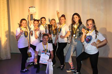 В Коркинском районе состоялся Кубок хореографии