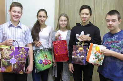 Школьники Коркино собрали подарки ветеранам