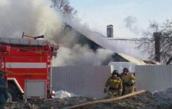 Сегодня в Коркино на пожаре пострадал мужчина