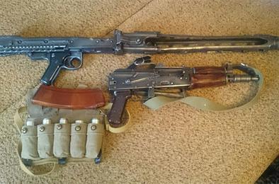 Коркинец осуждён за хранение арсенала оружия