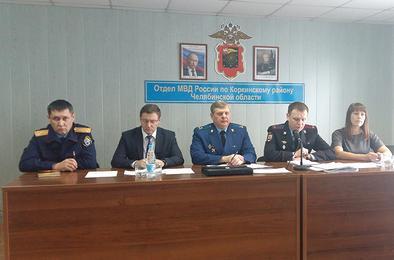 Полицейские Коркино подвели итоги 2016 года