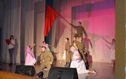 В Коркино торжественно открыли месячник патриотической работы