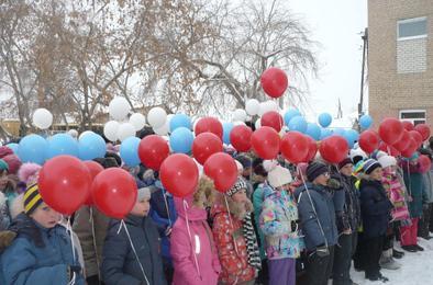 Младшие школьники Коркино активно участвуют в патриотическом месячнике