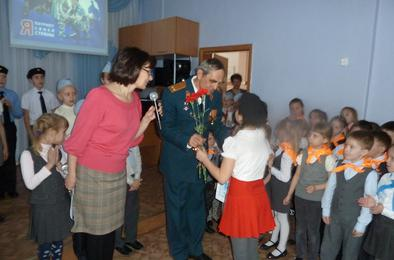 Ученикам Коркино пожелали быть сильными и смелыми