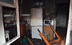 Сегодня ночью в Коркино из-за пожара эвакуировали жильцов дома