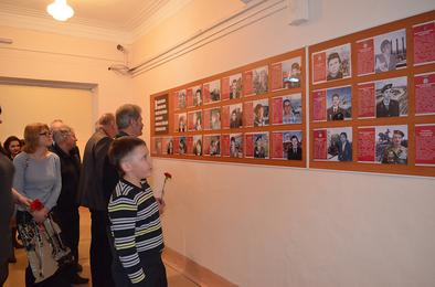 В Коркино открыта галерея  воинов-афганцев