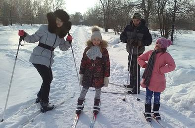 На лыжне – второклассники коркинской школы