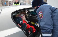 ГИБДД Коркино проверит перевозку детей