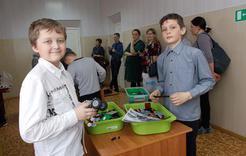 Школьники Коркино овладевают инженерными знаниями